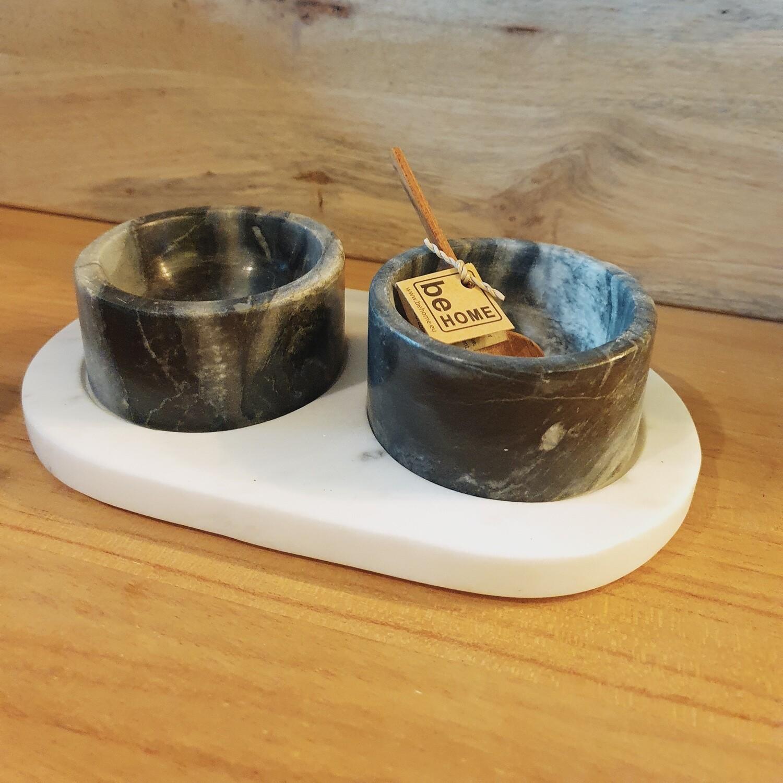 Set für Gewürze oder Dips inkl. kleinem Löffel