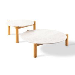 Cassina 535 TABLE A PLATEAU INTERCHANGEABLE ø 75