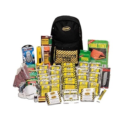 Deluxe Emergency Backpack Kit (4 Person)