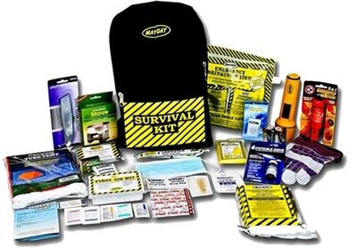 Deluxe Emergency Backpack Kit (2 Person)