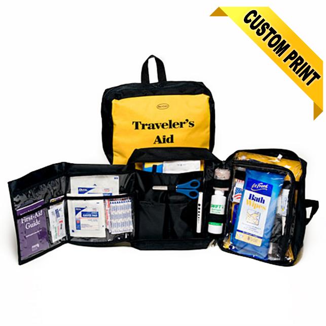 Traveler's First Aid Hygiene Kit