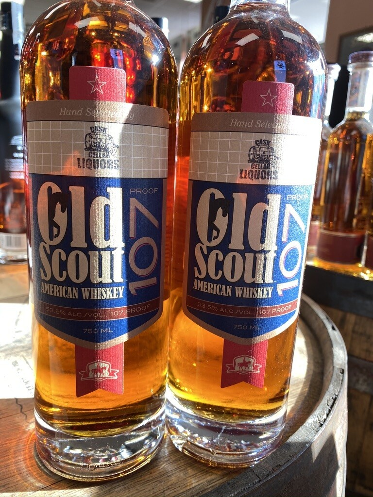 Old Scout American Whiskey Single Barrel