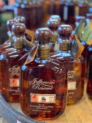 Jefferson's Reserve Single Barrel