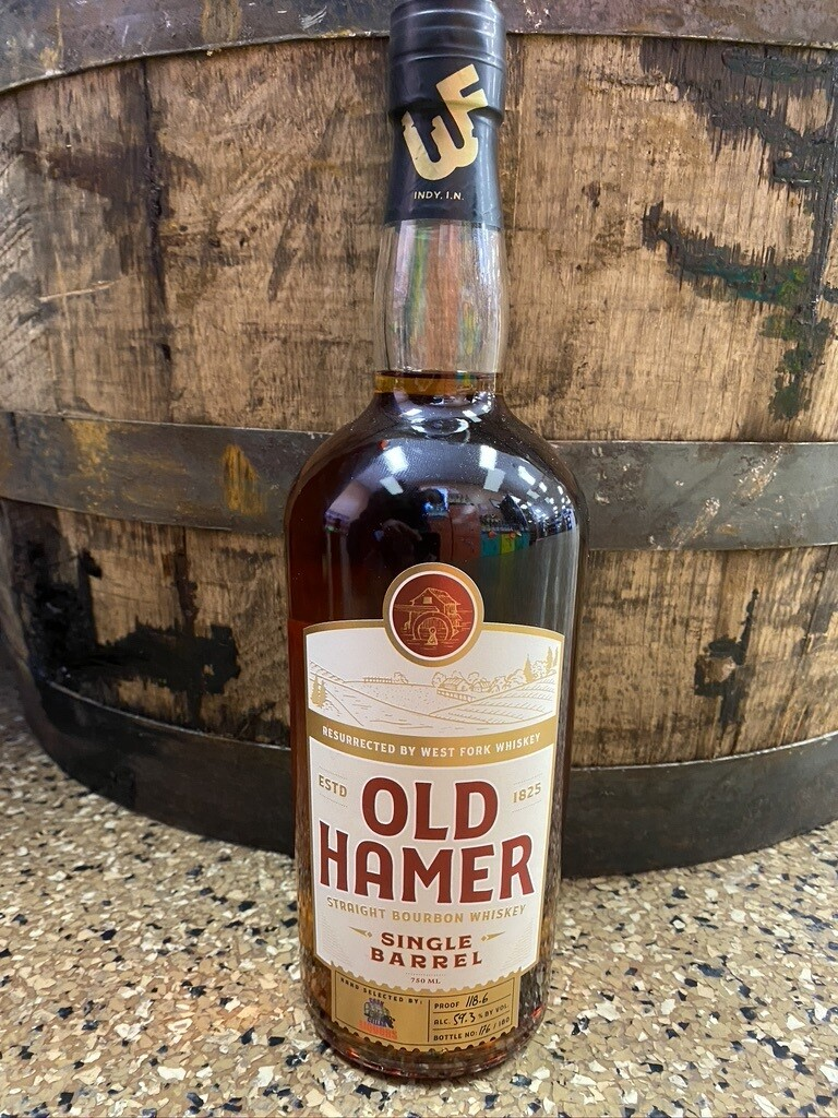 Old Hamer Single Barrel Cast Strength