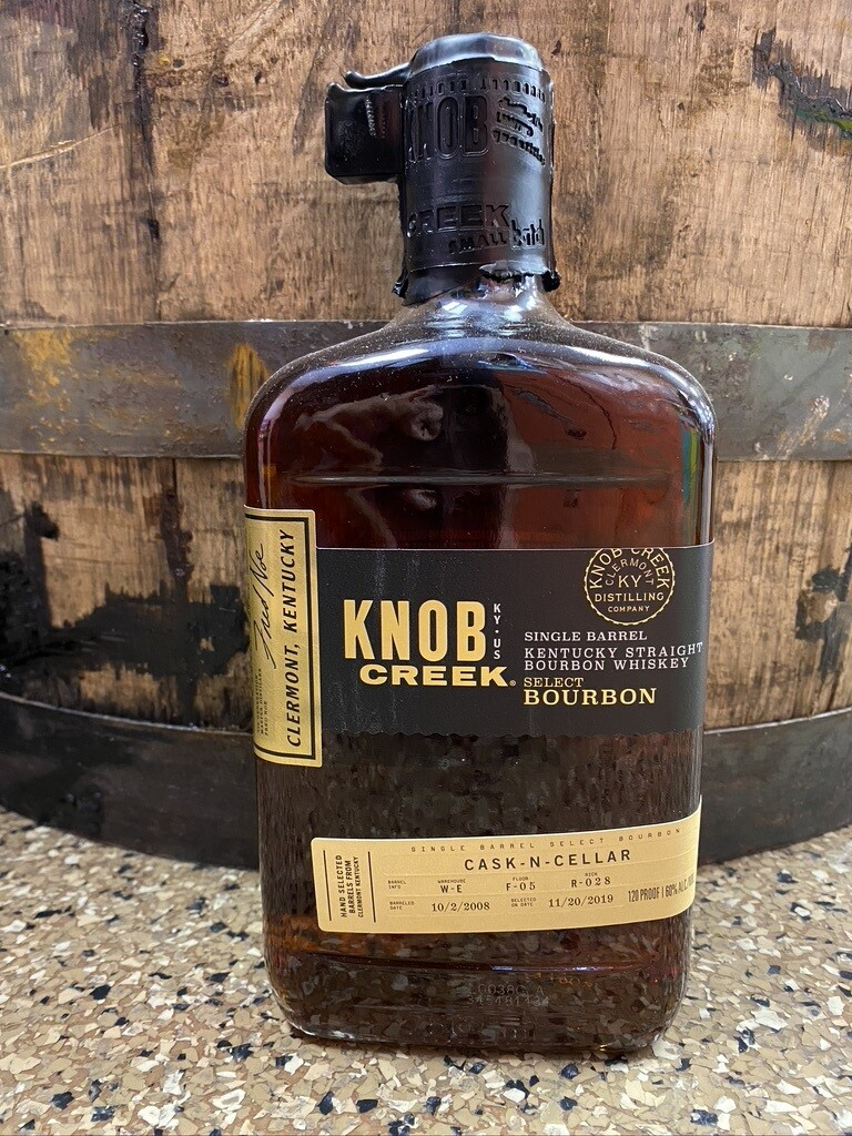 Knob Creek Bourbon Single Barrel