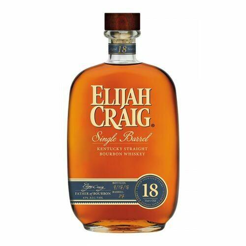 Elijah Craig 18Y
