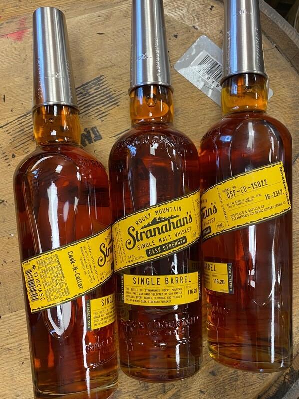 Stranahan's Cask Strength Single Barrel