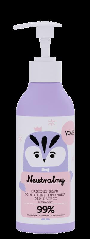 Натуральний гель для інтимної гігієни для дітей Без запаху