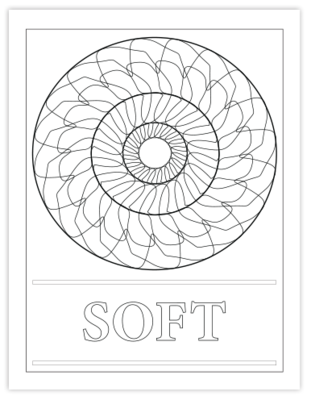 SOFT COLORING PAGE