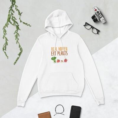 Real Women Eat Plants  Unisex hoodie All Veggies