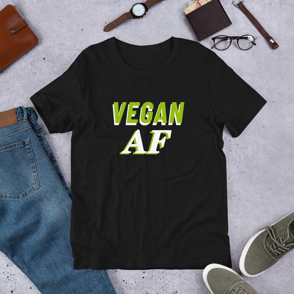 Vegan AF Unisex T-Shirt