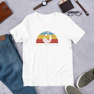 Go Vegan Short-Sleeve Unisex T-Shirt