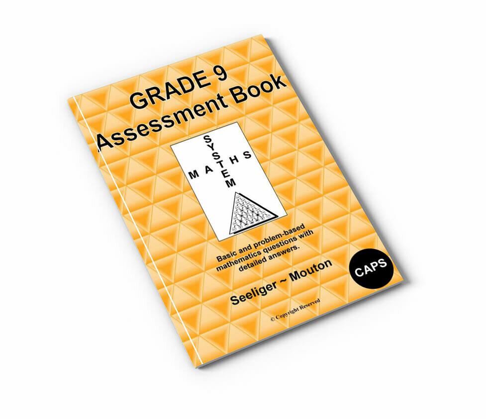 Gr 9 Mathematics Assessment Book