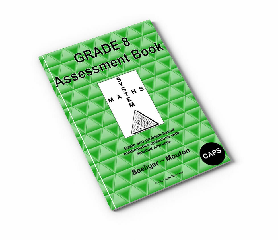 Gr 8 Mathematics Assessment Book