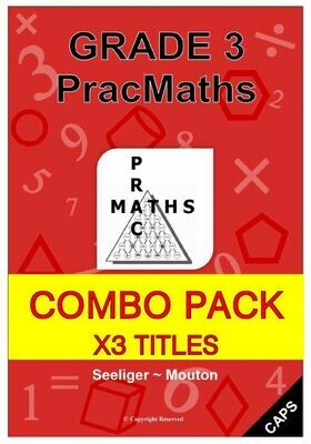 Grade 3 Mathematics Books + Memos