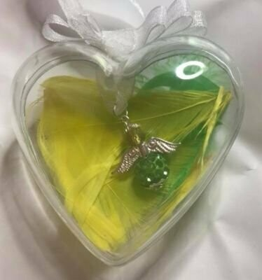 Irish County Colours Crystal Angel Bauble