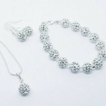 Shamballa and Swarovski Crystal Set