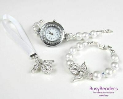 Communion Watch and Bracelet Set