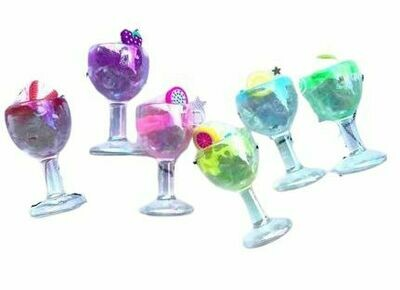 Coloured Fun Glass Stem Charm