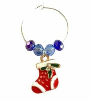 Christmas Wine Glass Charm