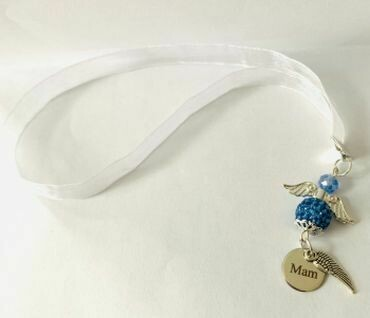Something Blue Angel Mam Feather
