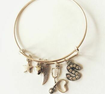 Nurses Personalised Bangle
