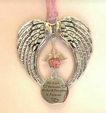 Mother And Daughter Angel Wind Chime