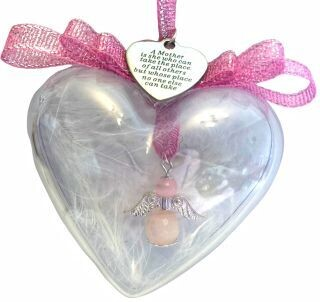 Angel in a Bauble with A Mother is charm