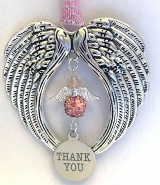Thank You Angel Wind Chimes