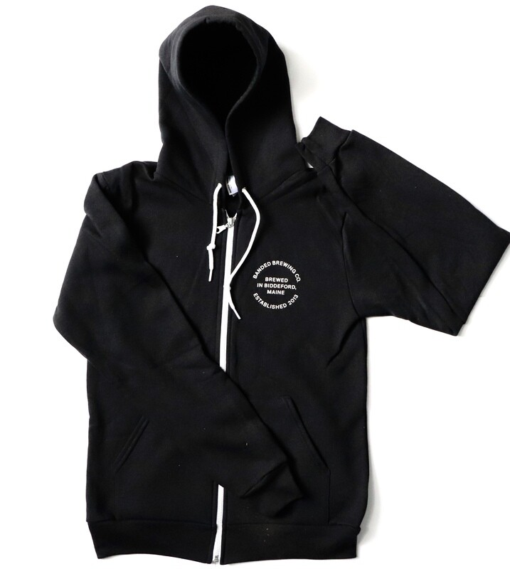 Black Zip-up Hoodie