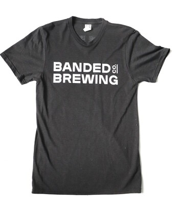 Unisex Banded Brewing Logo Tee