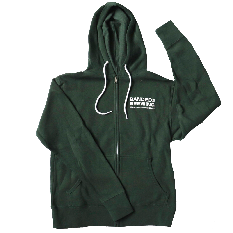 Zip Hoodie GREEN