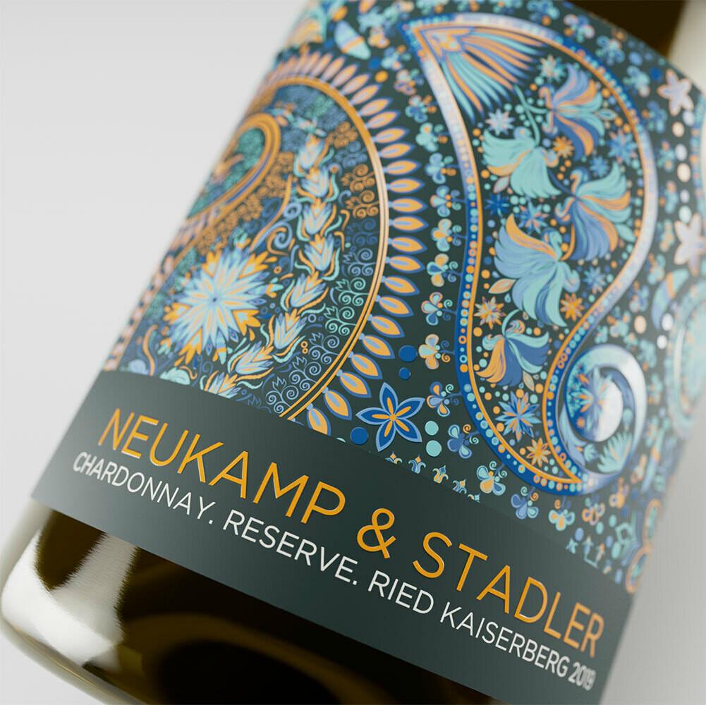 """""""Chardonnay Reserve, Ried Kaiserberg 2019"""" - Halbturn - 6 Flaschen à 0,75l (DE)"""