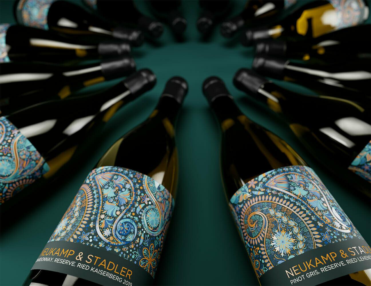 """2 x Pinot Gris Reserve und 1 x Chardonnay Reserve 2019"" - trocken - 3 Flaschen à 0,75l (AT)"