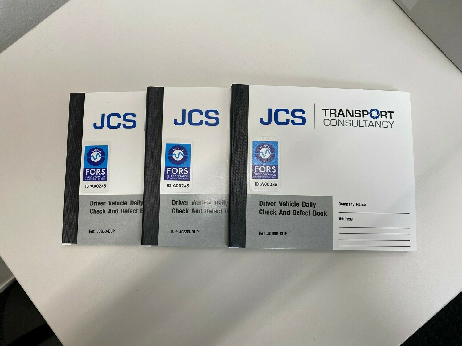 Driver Vehicle Reporting Defect Books