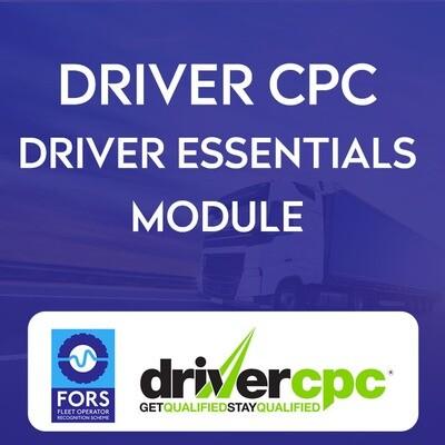 Driver Essentials DCPC Module