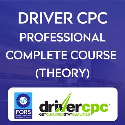 FULL 35Hrs Driver CPC Course