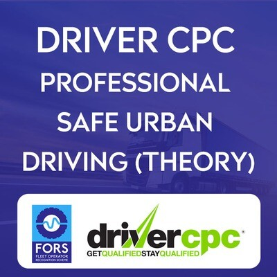 FORS Professional WRRR (Safe Urban Driving) Theory only CPC Module