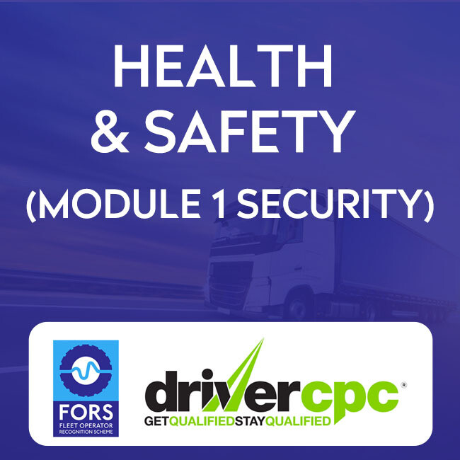 Driver CPC Health and Safety 2020 Course (Module 1)