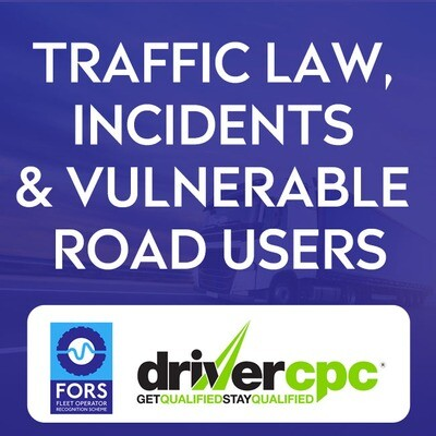 Driver CPC Traffic Law, Incidents and Vulnerable Road Users Course