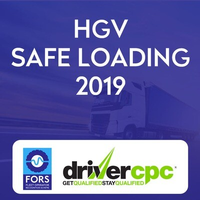 Driver CPC HGV Safe Loading 2019 Course