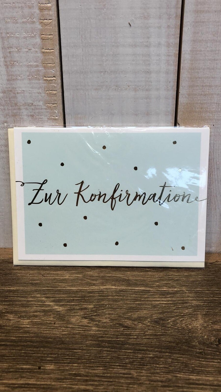 Grußkarte | Konfirmation