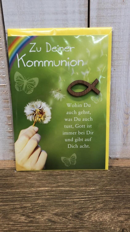 Grußkarte | Kommunion