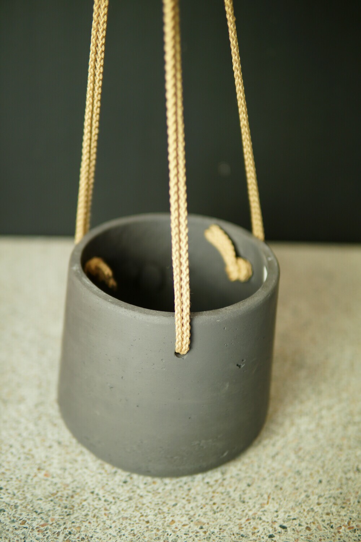 Hänge-Topf | Stone Grey