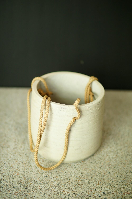 Hänge-Topf | Stone White