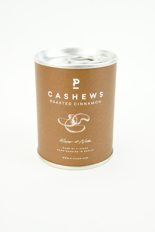 Cashew-Nüsse geröstet in Zimt