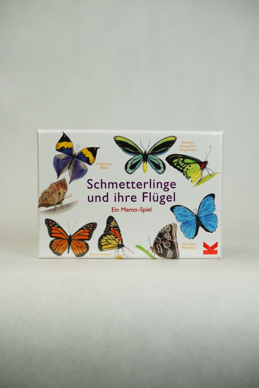 Schmetterlinge und ihre Flügel | Memory