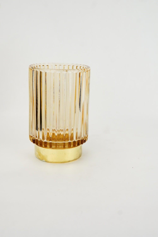 Glas | Goldrand | Bronze