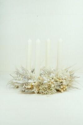 Vorbestellung | Trockenblumen | Weiß