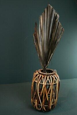 Palm-Speer | Schwarz